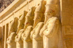 Hatshepsut Mortuary Temple, Luxor, Egypt Royalty Free Stock Images