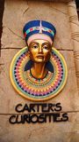 Hatshepsut Queen of Egypt Logo Stock Photos