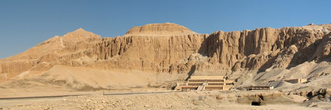 Hatshepsut queen's temple Royalty Free Stock Photos