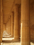 Hatshepsut's temple Royalty Free Stock Photo