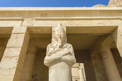 Hatshepsut's temple, Egypt Royalty Free Stock Photography