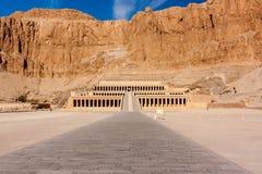 Hatshepsut's Temple in Luxor. The temple of Queen Hatshepsut in Luxor, Egypt royalty free stock image