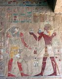 Hatshepsut Tempel Stockbild