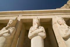 Hatshepsut Tempel   Stockfotografie