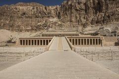 Hatshepsut tempel i Egypten Royaltyfri Foto