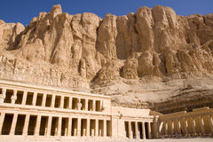 Hatshepsut temple Royalty Free Stock Images