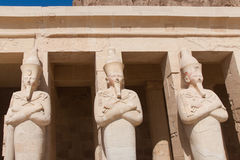 Hatshepsut temple Royalty Free Stock Image