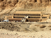 Hatshepsut Temple Stock Photography