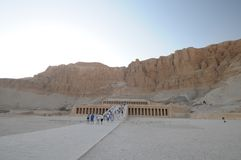 Hatshepsut temple Egypt Royalty Free Stock Photo