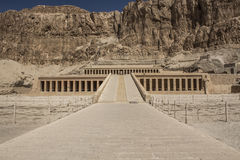 Hatshepsut Temple in Egypt Royalty Free Stock Photo