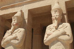 Hatshepsut Temple in Luxor Royalty Free Stock Photography