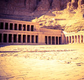 Hatshepsut temple Royalty Free Stock Photos