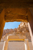 Hatshepsut Temple in the Valley of the Kings Stock Photo