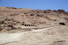 Hatshepsut temple at west bank of Luxor, Egpyt Stock Photography