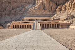 Hatshepsut temple Stock Photo