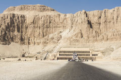 Hatshepsut temple at west bank of Luxor, Egypt Royalty Free Stock Image