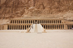 Hatszepsut. View of temple - Egypt Royalty Free Stock Images