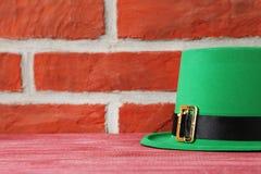 Hatt för dag för St Patrick ` s Arkivfoton