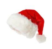 hatt rött s santa Royaltyfri Bild