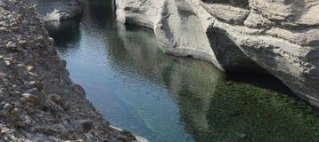 hatta的湖 库存照片