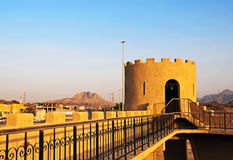 Hatta Fort. The old Hatta Fort at the Dubai Oman border Stock Image