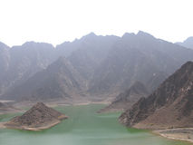 Hatta Lake Royalty Free Stock Photos