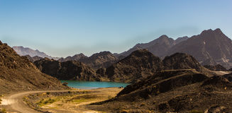 Hatta mountains stock images