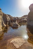 Hatta Pools Royalty Free Stock Photos