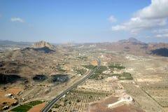 Hatta-Region in Dubai lizenzfreies stockbild