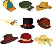 hattar stock illustrationer