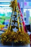 Hattar firar nytt år Arkivbilder