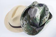 hattar två Arkivbilder