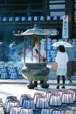 Hattasan Shrine Lantern Festival-4 Stock Photo