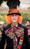 Hatter costume Stock Image