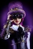 Hatter girl stock photo