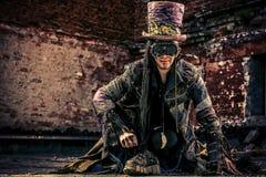 Hatter mężczyzna zdjęcie royalty free