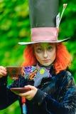 Hatter pazzo Fotografia Stock