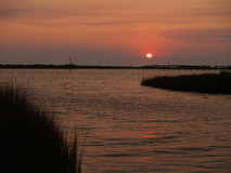 Hatteras Island Sunset Royalty Free Stock Image