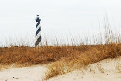 Hatteras Light with Foreground Royalty Free Stock Image