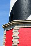 Hatteras lighthouse architectural details. Outer banks North Carolina Stock Photo