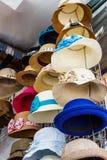 hattförsäljning Royaltyfria Bilder