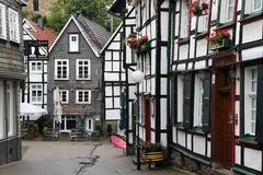 Hattingen city Royalty Free Stock Photography
