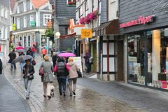 Hattingen, Duitsland stock fotografie