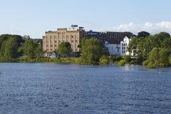 Hattingen (Germania) - mulino di Birschels fotografia stock libera da diritti