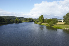 Hattingen (Germany) - River Ruhr Royalty Free Stock Photos