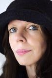 hattkvinna arkivfoto