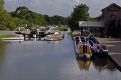 Hatton Locks Stock Image