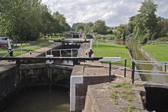 Hatton Locks. Warwickshire, England Uk stock image