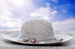 hatttabellträ Arkivfoton