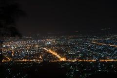Hatyai bij nacht Royalty-vrije Stock Foto's